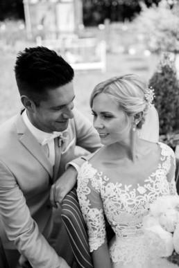 Hochzeit Brautpaarshooting Pfingstrosen