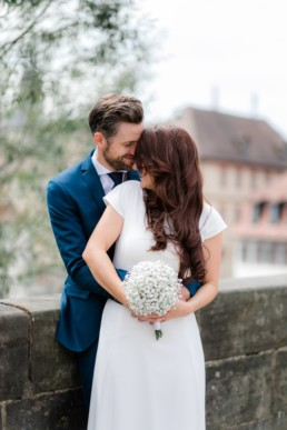 Bamberg verliebtes Brautpaar