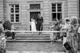 Auszug aus dem Standesamt Bamberg Konfettikanone