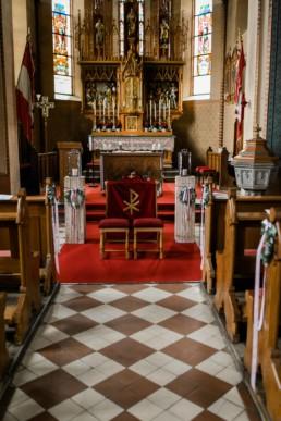 Kirche Trauung Vintagehochzeit in Franken Julia Reif Fotografie