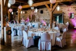 Dekoration Hochzeit Dinner in Franken Hochzeitsfotografie Julia Reif Fotografie