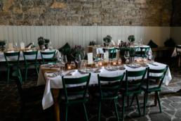 Rustikale Hochzeit in den Weinbergen Saaldeko Lavendel