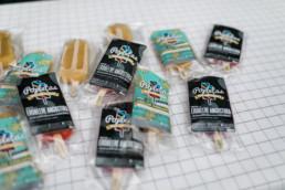 Popletas Eis für die Gäste an der Hochzeit