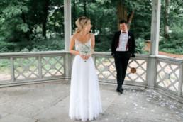 Brautpaarshooting in Bamberg im Hain nach der standesamtlichen Trauung in Bamberg von Julia Reif Fotografie