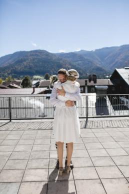 Hochzeit in den Bergen Reit im Winkel Julia Reif Fotografie
