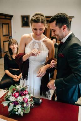 Ringe Brautpaar Standesamt