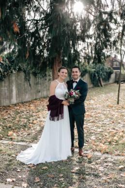 Brautpaar Herbsthochzeit