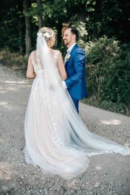 Hochzeitstag Brautpaar