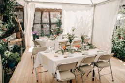 Blumen Hochzeit Tisch