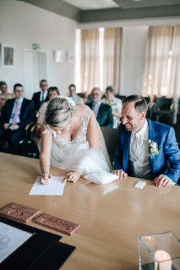 Unterschrift Standesamt Braut