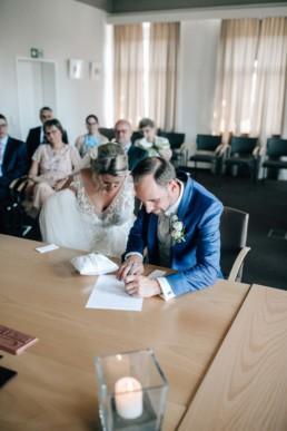 Brautpaar Trauung Standesamt