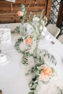 Gedeckter Tisch Hochzeit