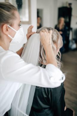 Frisur Schleier Braut