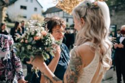 Glückwünsche Braut