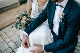 Brautpaar Brautstrauß