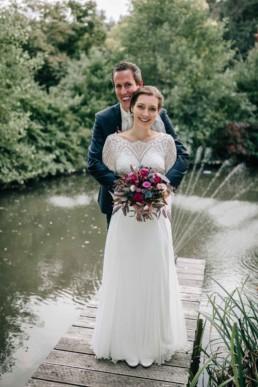 Brautpaar See Steg
