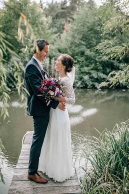 Brautpaar Steg See