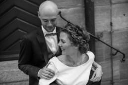 Brautpaar Lachen