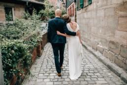 Glückliches Paar Hochzeit