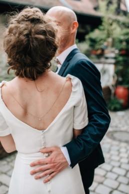 Braut Rückenansicht