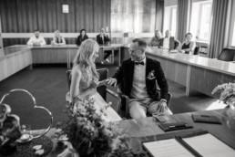 Ringtausch Standesamt Brautpaar