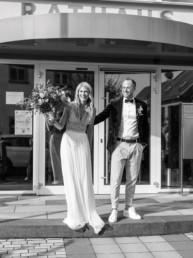 Auszug Standesamt Brautpaar