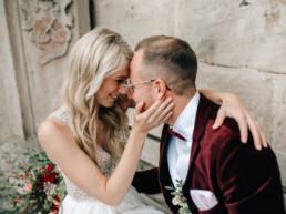 Brautpaar Blicke