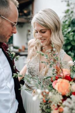 Anzug Braut