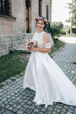 Braut Wind Brautkleid