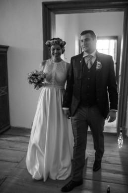 Auszug Brautpaar