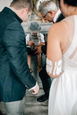 Ringjunge Hochzeit