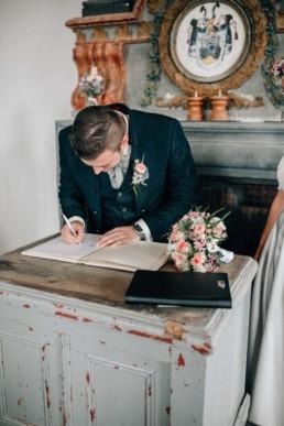 Unterschrift Bräutigam Standesamt
