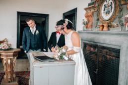 Unterschrift Braut Standesamt