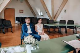 Standesamt Hochzeit in Bamberg, Foto im Standesamtsaal