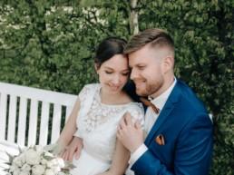 Hochzeitsfoto von Fotografin Julia Reif aus Bamberg bei Hochzeit im Schloß