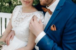 Hochzeitsfoto Nahaufnahme der Eheringe von Julia Reif, Fotografin aus Bamberg