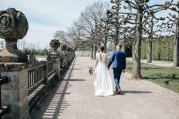 Schloß Seehof Fotoshooting mit Brautpaar und Fotografin Julia Reif aus Bamberg