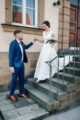 Los gehts zur standesamtlichen Hochzeit mit Hochzeitsfotografin Julia Reif